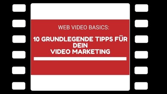 Web Video Basics - Beitragsbild