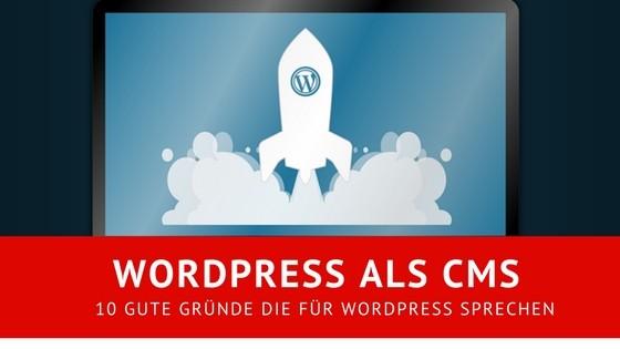 Titelbild zum Artikel Wordpress als CMS