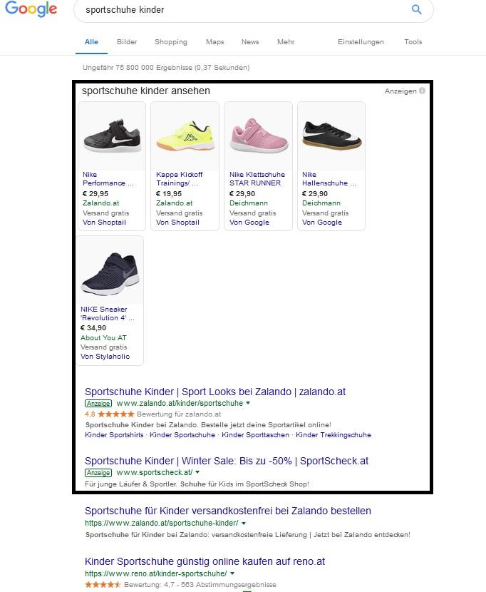 Google Ads Platzierungen