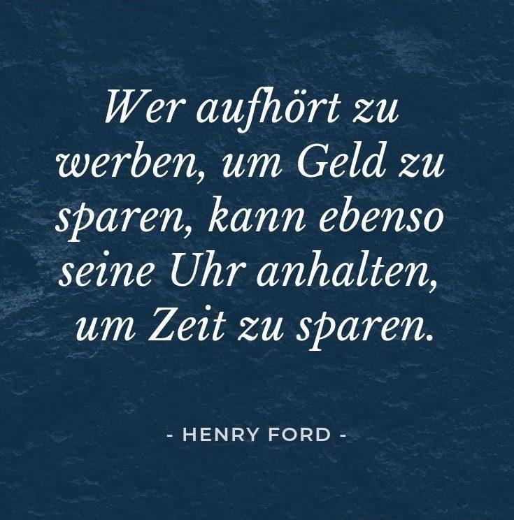 Zitat Henry Ford Online Marketing für Unternehmen